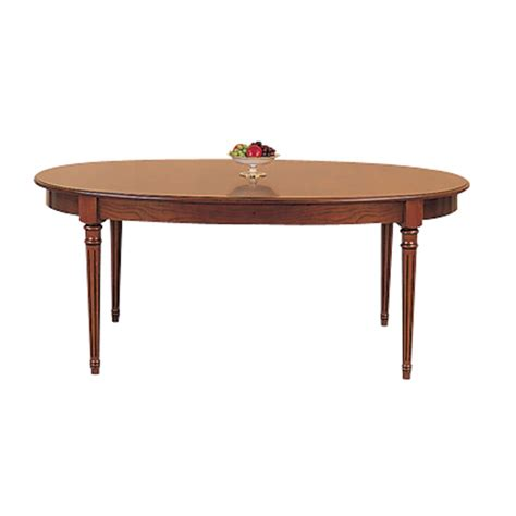 Lovely Oval Extendable Dining Table #3 Oval Cherry Dining