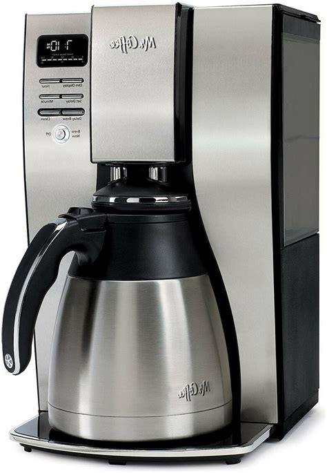 A perfect coffee maker for satisfying every craving, the mr. Mr. Coffee BVMC-PSTX95 10-Cup Optimal Brew Thermal Coffee