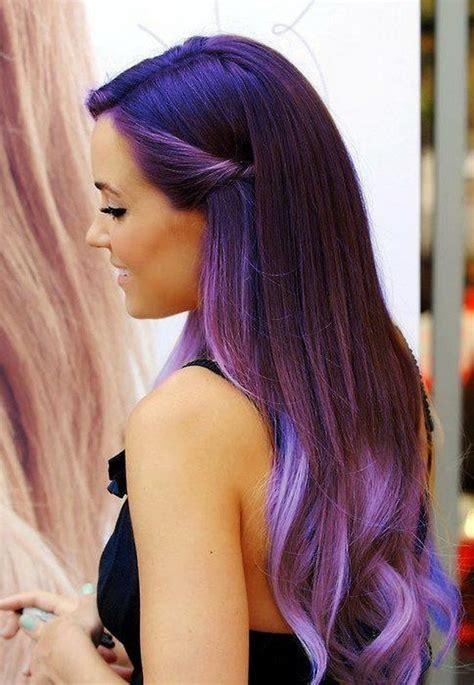 Long Wavy Purple Ombre Hair 2014 Pretty Designs