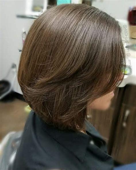 layered bob hairstyles add  hot layers
