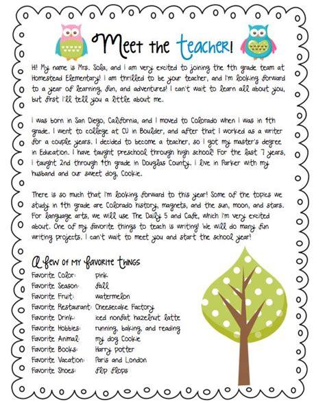 teacher letter parent communications letter  teacher