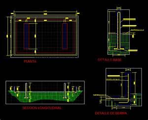 Fuel Storage Tank DWG Block for AutoCAD • Designs CAD