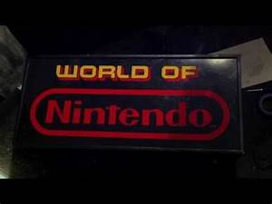 Rare World Nintendo 1991 Store Display Sign
