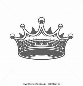 King Crown Logo Vector Illustration. Royal Crown ...