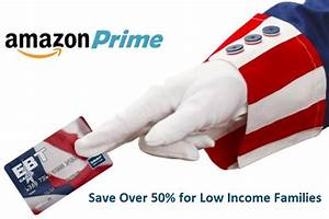Discounted Amazon Prime for Low Income Families | # ...