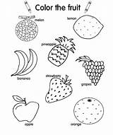 Salad Fruit Coloring Pages Drawing Colouring Vegetable Getdrawings Printable Getcolorings sketch template