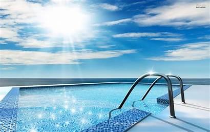 Pool Swimming Desktop Background Scenic Pools Wallpapers