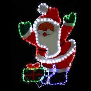 rope light santa buy solar led santa present rope light display graysonline australia