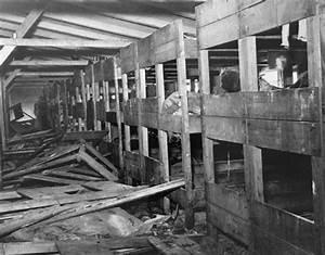 Survivors in a Barracks in Bergen-Belsen at Liberation