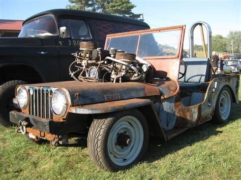 saving jeep grand wagoneers willys jeep rat rod