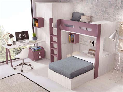 lit mezzanine ado avec lit separable glicerio  nuit