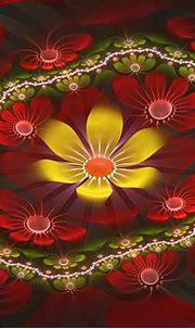 Flower created with fraktal editors #fractal design# ...