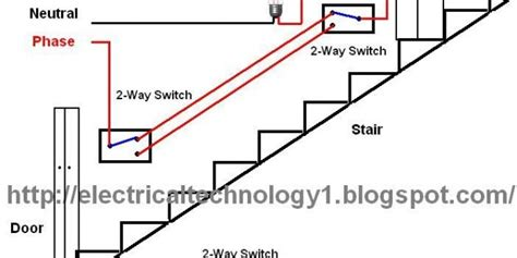 Godown Wiring Diagram Pdf by Staircase Wiring Circuit Diagram Electrical Technolgy