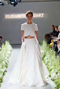 best wedding dresses for brides gorgeous crop top wedding dress inspiration bridal musings