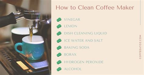 It will also remove mineral buildup and clean out the coffee oils that get left behind and turn rancid. How to Clean Coffee Maker With or Without Vinegar