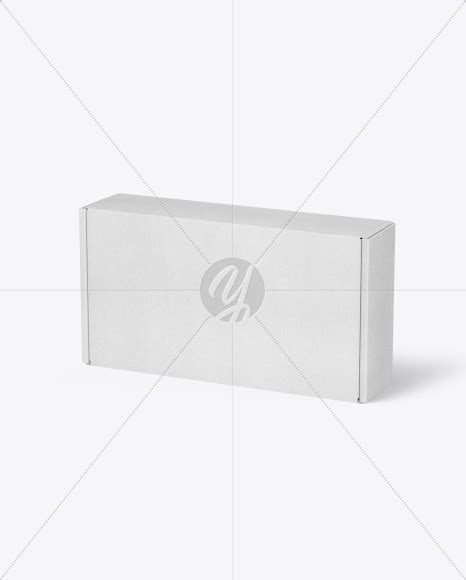 Simply insert in your own design and give it a quick go. Kraft Paper Mailing Box Mockup in Box Mockups on Yellow ...