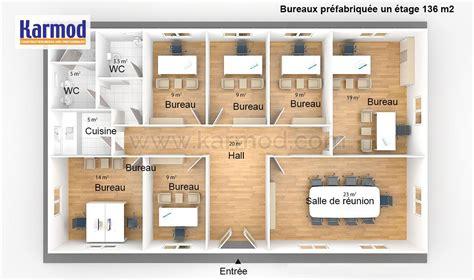 bureau plan de cagne bureaux préfabriquée 136m bungalow bureau bureau