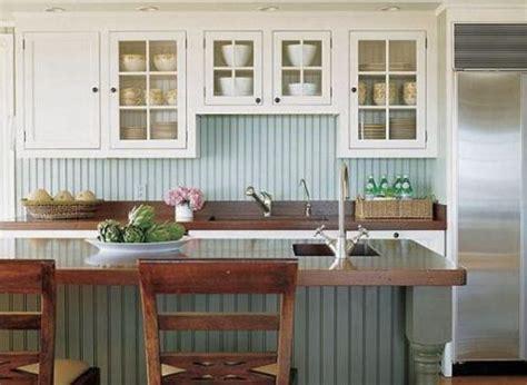 Beadboard Island : 25 Beadboard Kitchen Backsplashes To Add A Cozy Touch