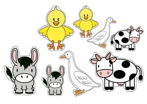 farm animals sorting by size worksheets for preschool 294 | farm animals sorting by size worksheets for preschool