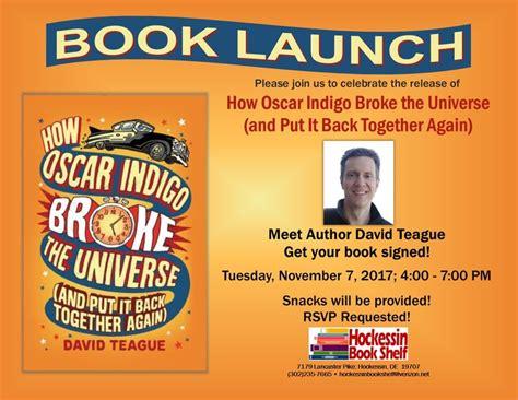 Book Launch  David Teague