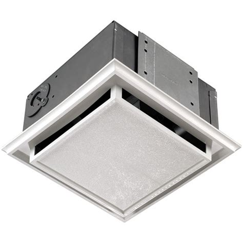 ductless bathroom vent with light bathroom fans brl 682 ductless bathroom exhaust fan by