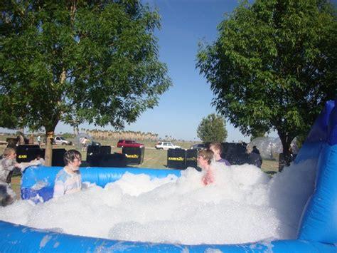 foam party interactive games portland  seattle wa