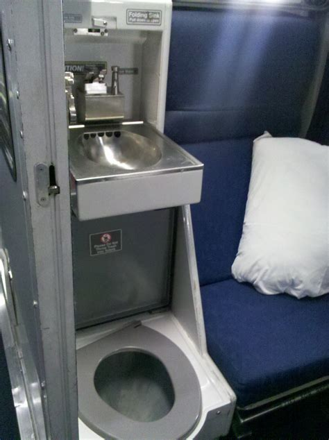 Do All Amtrak Trains Bathrooms by Roomette Toilet Sink Viewliner Amtrak Marla Sink