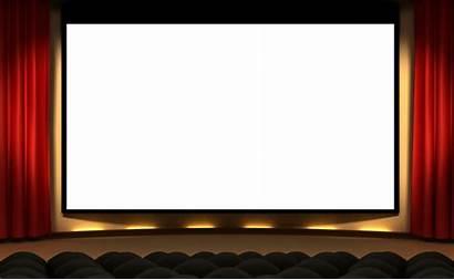 Cinema Transparent Clipart Film Theater Frame Clip