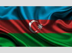 Flag of Azerbaijan HD Wallpaper Background Image