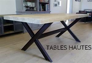Table à Manger Industrielle Acier Et Bois : metalik bois meubles industriels en m tal et bois metalik bois meubles industriel dans la ~ Teatrodelosmanantiales.com Idées de Décoration