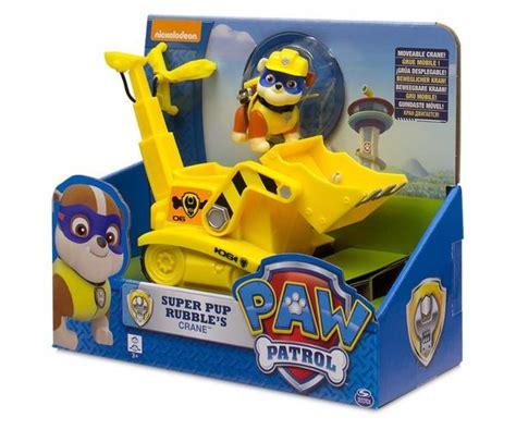 paw patrol rubble  crane paw patrol toys toys