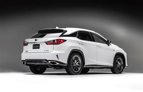 lexus crossover 2016 all new 2016 lexus rx crossover arrives with bold new