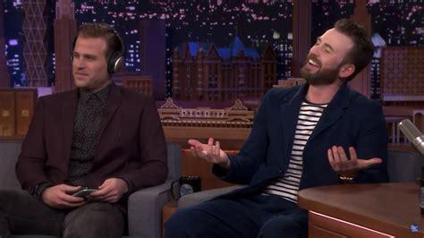 Chris and Scott Evans appear on TV together | SBS Pride