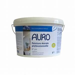 Peinture À L Eau Murale : auro peinture murale l 39 eau professionnelle cologique n 322 ~ Melissatoandfro.com Idées de Décoration