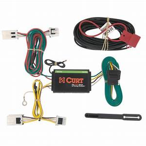 Curt Custom Wiring Harness  4-way Flat Output -56148