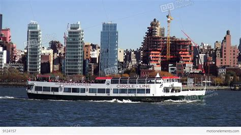 Hudson Boat Cruise Nyc by Circle Line Sightseeing Boat On Hudson River New York