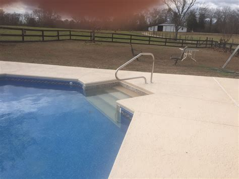 pool deck renovation existing textured deck coating