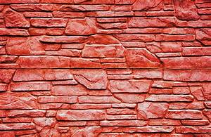 Red stone brick wall texture ~ Abstract Photos ~ Creative ...