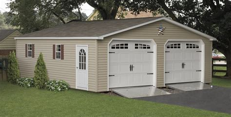 2 Story Garage Packages by Custom Two Car Garages 2 Car Detached Sheds For Sale