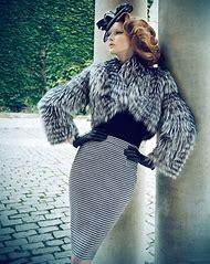 Vintage Fashion Photography Style