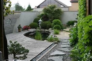photo de bassin de jardin japonais bassin de jardin With pont pour bassin de jardin 10 jardin japonais collection photo pour la creation