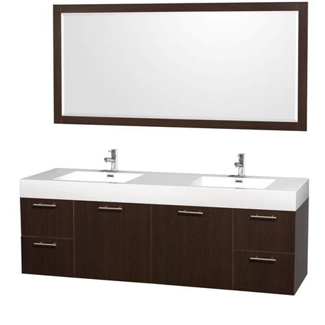 wyndham collection amare 72 inch w double vanity in