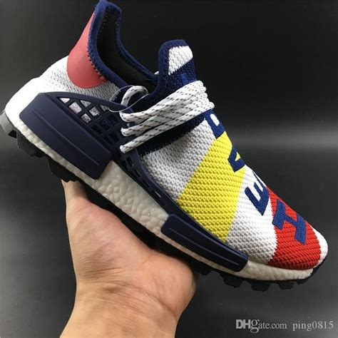 race casual shoes latest matching color yellow  blue pw hu holi mc farrell williams