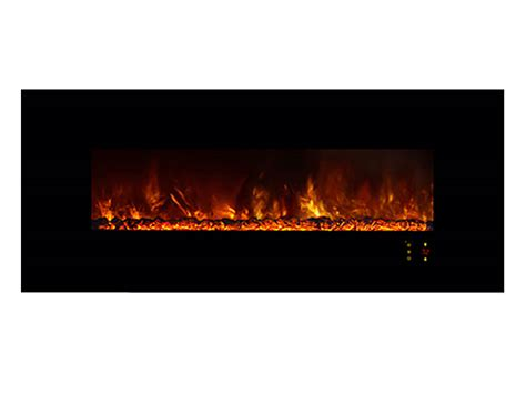 Modern Flames 60 Inch Electric Fireplace, Wall Recessed