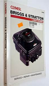 Clymer Briggs And Stratton Repair Service Manual Small