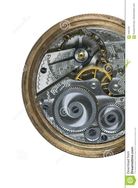 engrenage de montre de poche images stock image 4497434