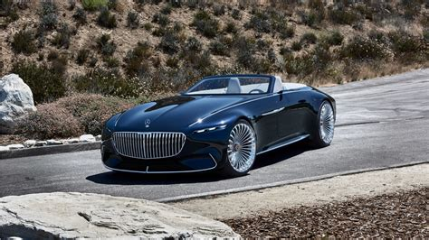 2018 Vision Mercedes Maybach 6 Cabriolet 7 Wallpaper