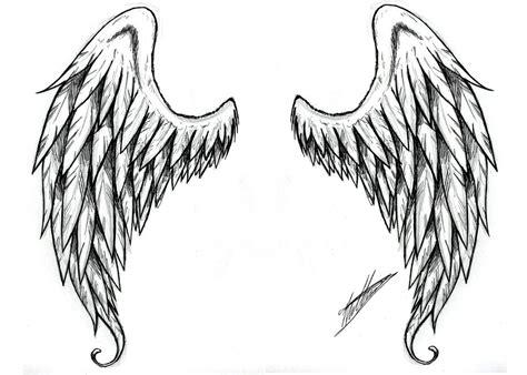 ailes d ange tuto dessin ailes d ange tatouage et