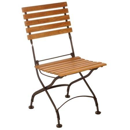 chaise pliante fer forgé chaise pliante en fer forgé et eucalyptus fsc lot de 2