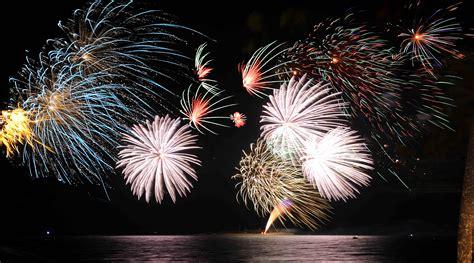 feu d artifice du nouvel an ville de noum 233 a